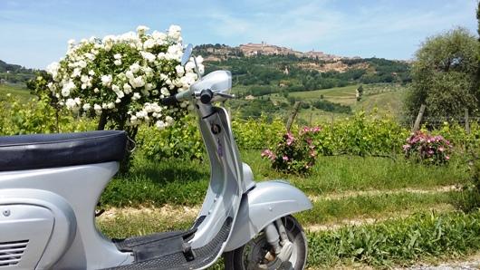 Tour in Vespa 1