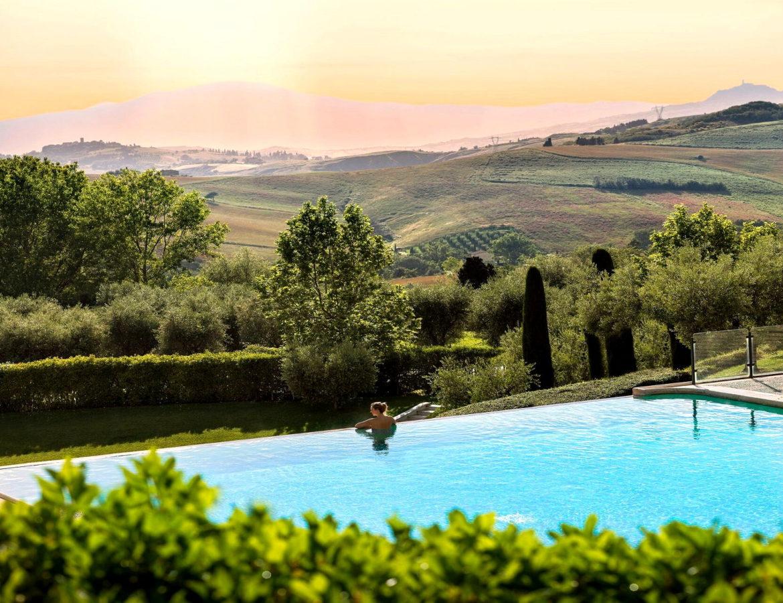 Panorami del benessere Fonteverde e cena romantica dinner montepulciano wellness