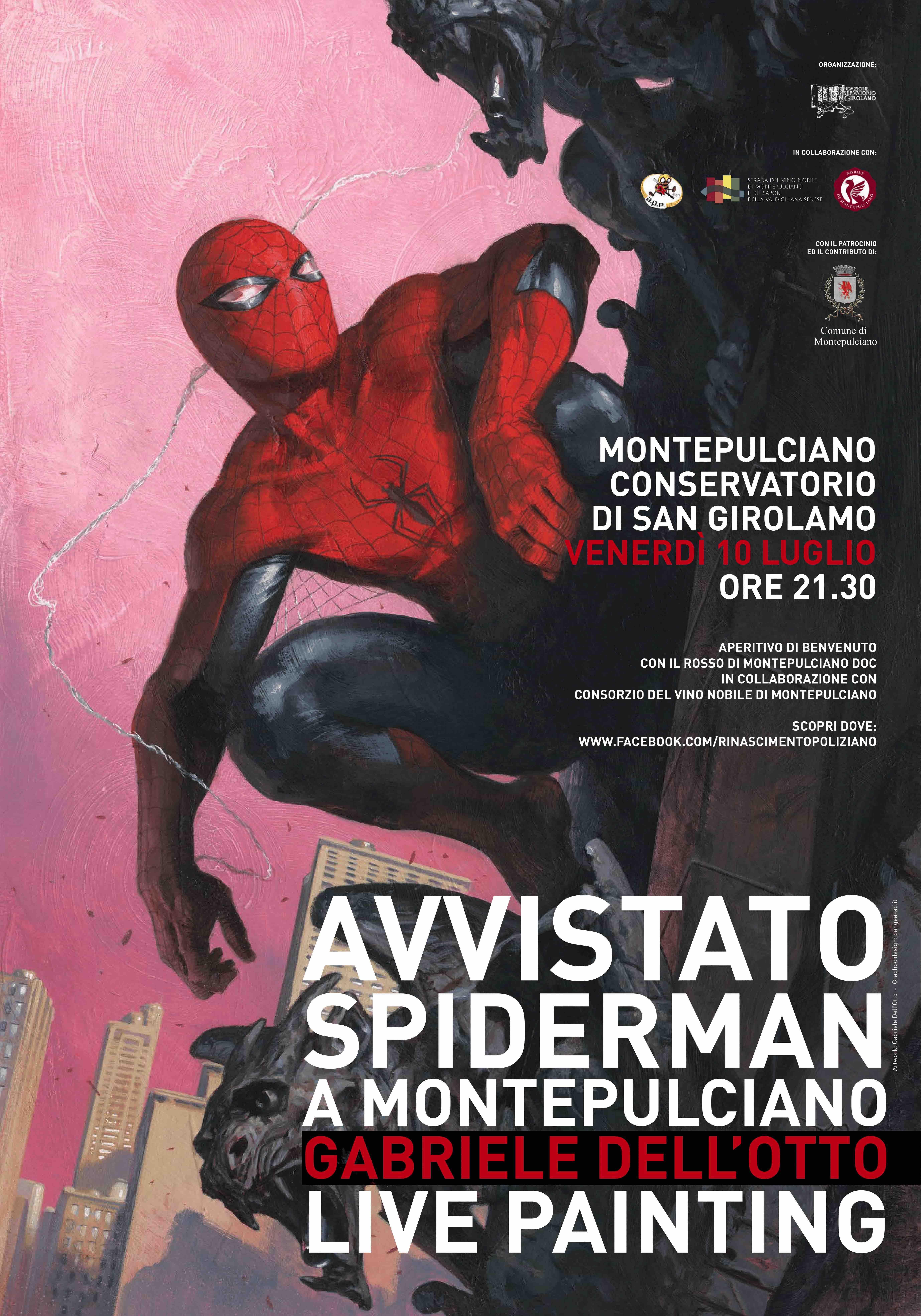 Manifesto Spiderman Marvell