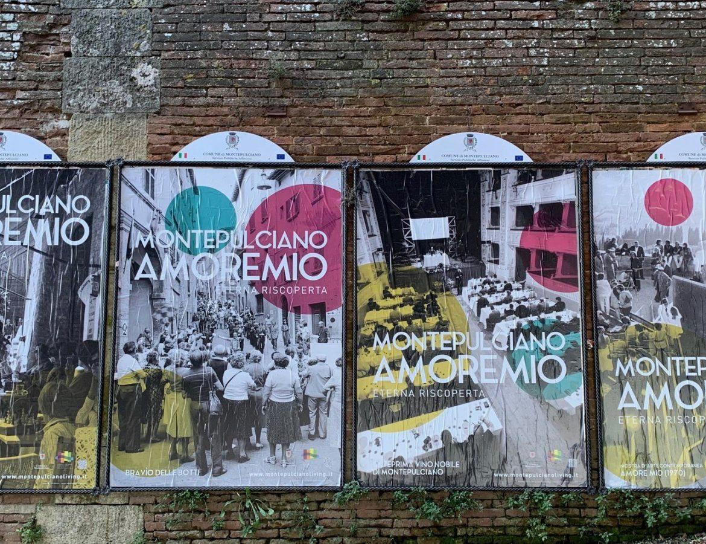 Manifesti Montepulciano Amore mIO